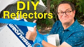 Make Your Own Reflector DIY Tutorial