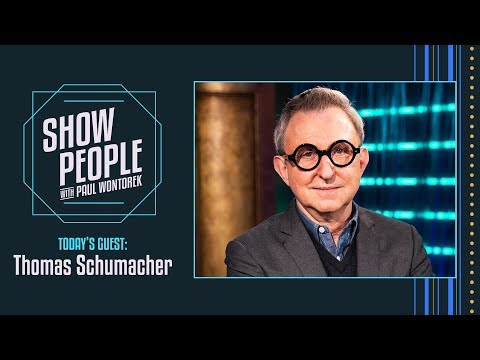 Show People with Paul Wontorek: Thomas Schumacher of Disney Theatrical Productions