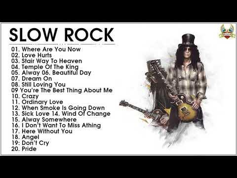 Slow Rock Love Songs of The 80s, 90s Playlist - Best Nonstop Slow Rock  Ever