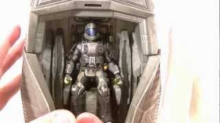 McFarlane Halo Universe Series 1 ODST Drop Pod with Rookie