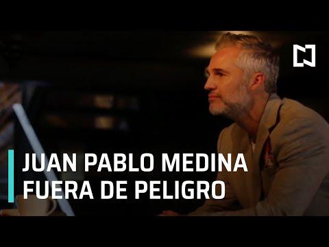 Juan Pablo Medina sufrió una trombosis, lo reportan fuera de peligro - Expreso de la Mañana