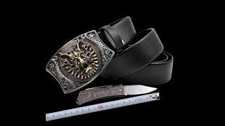 Dây nịt dao bằng da ngụy trang tự vệ sưu tầm cho dân phượt