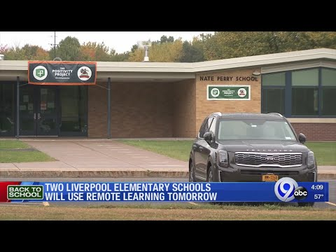 Two Liverpool elementary schools will use remote learning on Tuesday