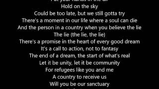 U2- American Soul karaoke