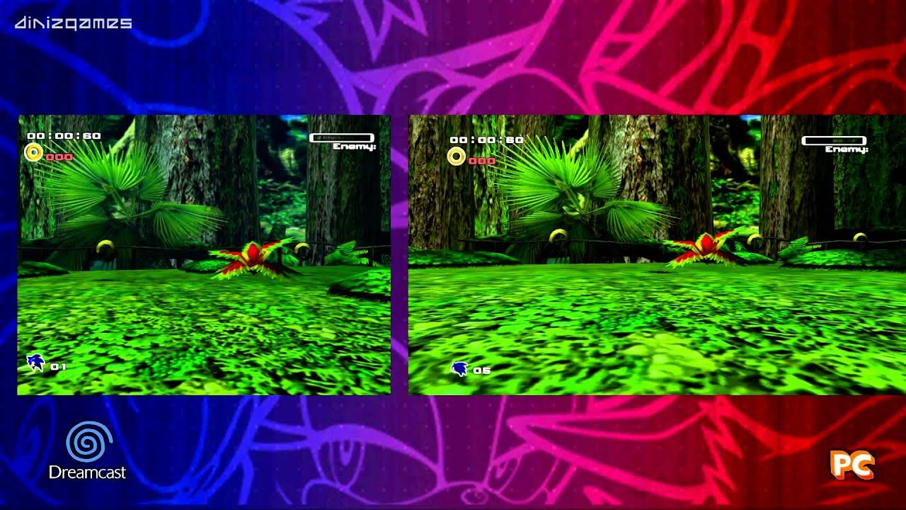 Sonic Adventure 2 Dreamcast Vs XBox 360PS3PC Part 2