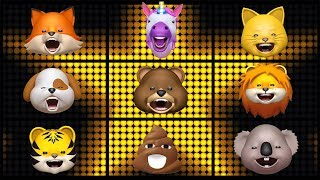 "LES ANIMOJIS CHANTENT ""ON TRACE"""