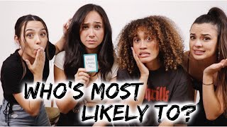 Who's Most Likely To??? (throwback)