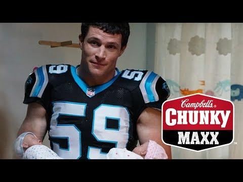 Campbells® Chunky Maxx™ soup   3AM Feeding with Luke Kuechly