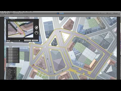 Autonomous car simulation in unity 3d - Machine Learning usi