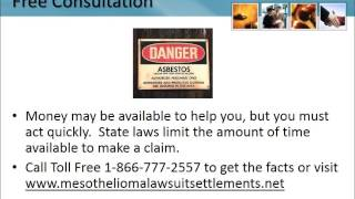 Mesothelioma Lawyer Howell New Jersey 1-866-777-2557 Asbestos Lawsuit NJ Lung Cancer Attorneys