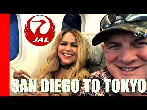 Amazing Flight on Japan Airlines ! 787-8 Dreamliner ✈️ | SAN-NRT (Econo Class)