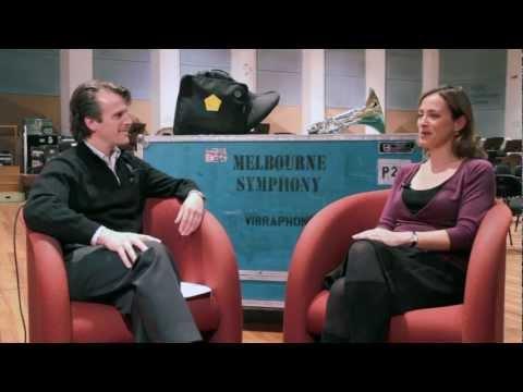 Saul Lewis interviews Sarah Willis in Melbourne