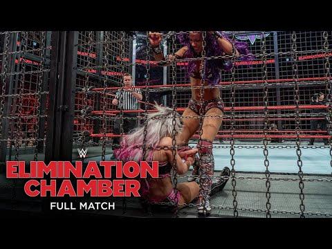 FULL MATCH - Raw Women's Championship Elimination Chamber Match: WWE Elimination Chamber 2018