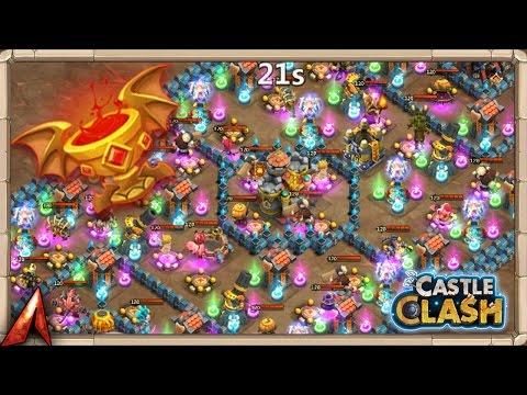 Insane 2-1 Unlocking Goblet Of Life F2P! Castle Clash