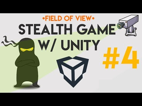 (04) Stealth Game - Field of View (Unity, C#)