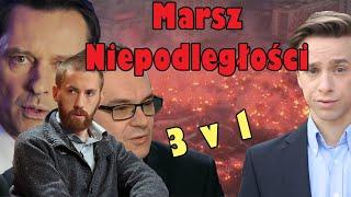 Strefa starcia - Debata o Niepodległej - Krzysztof Bosak - Marsz Niepodległości 2018 TVPinfo