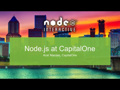 Node.js at CapitalOne