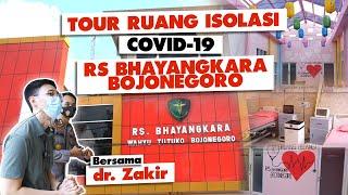 Tour Ruang Isolasi Covid-19 RS Bhayangkara Bojonegoro