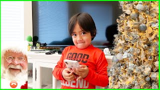 Ryan helps decorate our Christmas Tree for the Holiday!!!