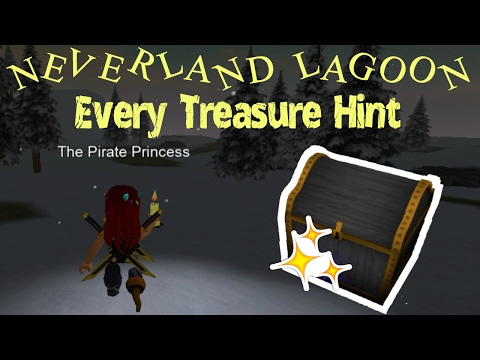 Every Treasure Location Hint in Neverland Lagoon