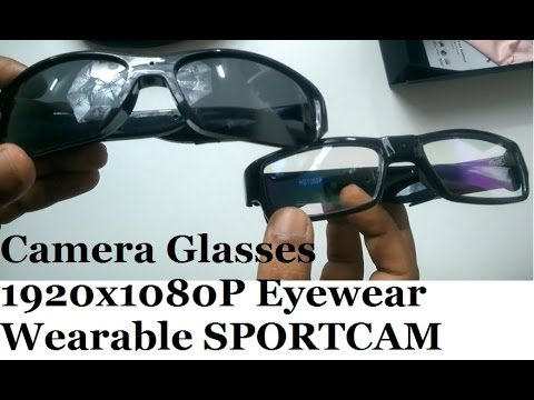 e8ce0eff69ed6a Spy Glasses Hidden Camera 1080p Wearable DVR Video Camcorder - YouTube