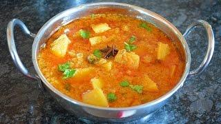 Potato/Aloo Kurma-Side dish for Roti/Biryani