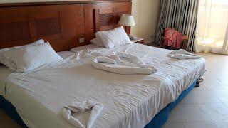 Обзор номера выводы отеля Sea Beach Aqua Park Resort Шарм ель Шейх