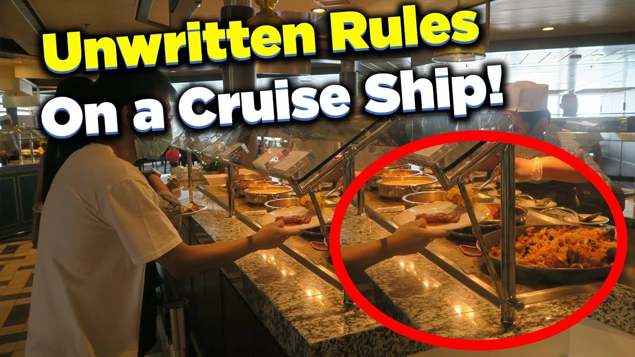Download Unwritten rules of going on a cruise ship
