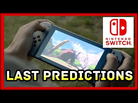 Nintendo Switch Predictions Before the Presentation Reveal