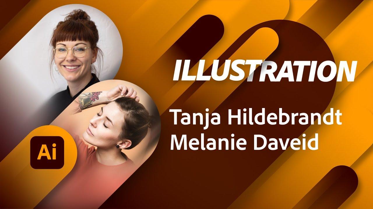 Produktdesign mit Melanie Daveid und Tanja Hildebrandt  Adobe Live