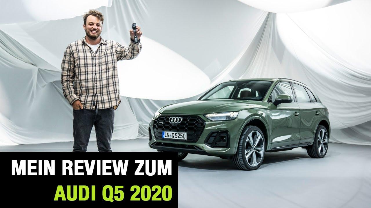 Audi Q5 Facelift 2020 Die Weltpremiere Mein Review Test Sitzprobe Motoren Mib 3 Phev Youtube
