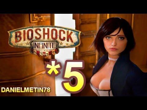 Bioshock Infinite - Walkthrough Part 5 Let's Play (PS3/XBOX360/PC) HD Gameplay [ Commentary]Español
