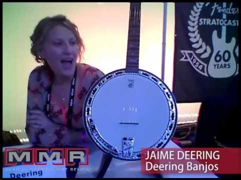 Deering Banjos Celebrates 100,000th Banjo at 2014 NAMM