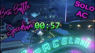 Zombies in Spaceland Boss Battle Speedrun (All Cards) 0:57