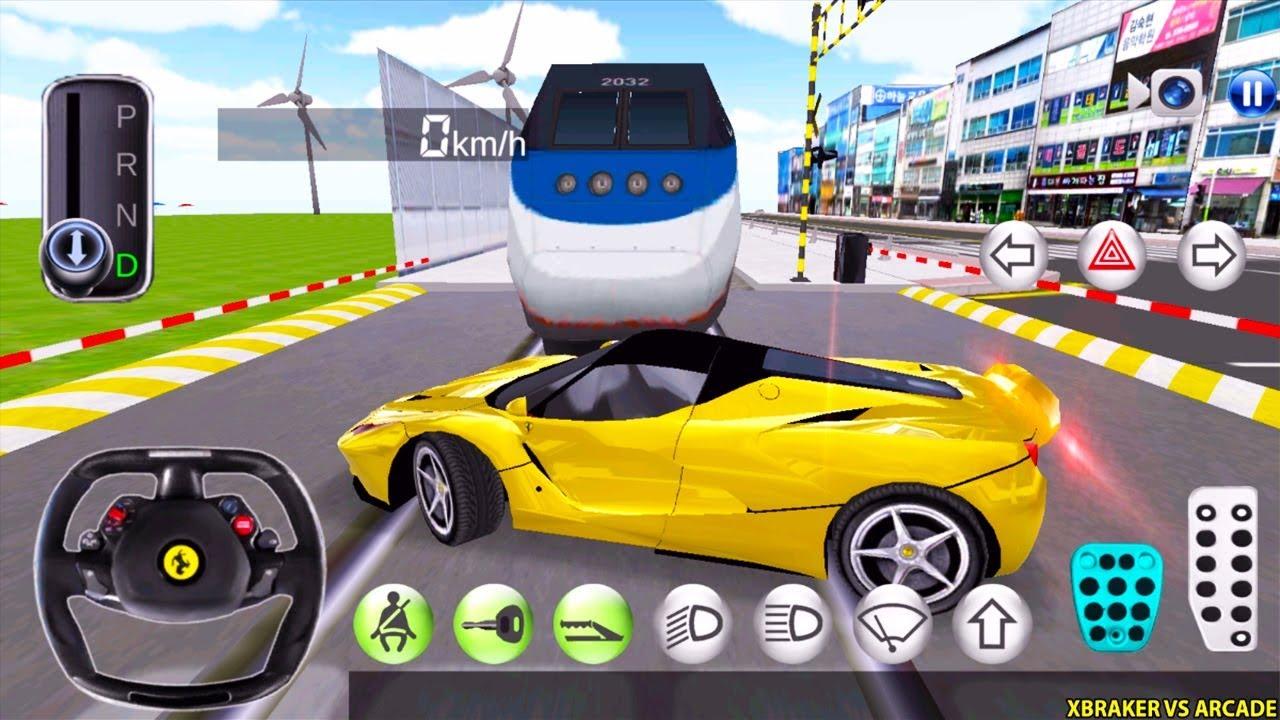 Korean Car Driving Simulator #Ferrari - New Paint Unlocked - Driver's License Examination