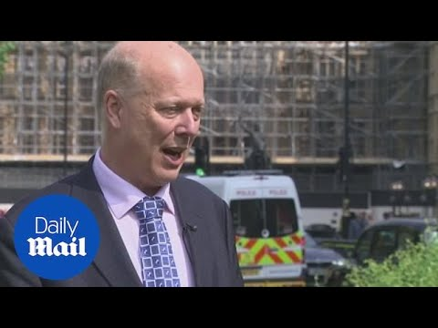 Grayling says no-deal Brexit ferry contracts have been cancelled