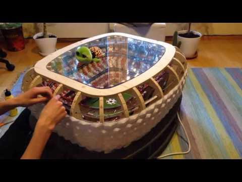Building Allianz Arena scale model (Part 5/5)