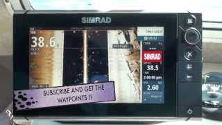 SIMRAD NSS9 EVO2 STRUCTURE SCAN HOW TO USE STRUCTURE SCAN TO CATCH BLACKFISH AKA SIDESCAN NSS EVO2