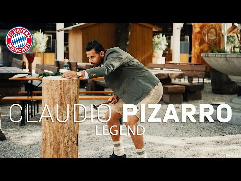 What is Claudio Pizarro doing? | FC Bayern Legends #7