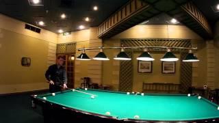 Видео-урок бильярда Урок №5 - Упражнение на силу удара