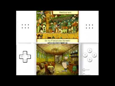 Professor Layton and the Unwound Future Walkthrough - Part 7: Chapter 1[3 of 4]
