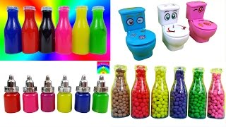 Compilation Of My Videos Clay Slime Play Doh Dippin Dots Bottles Toys Surprise