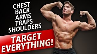 UPPER BODY DUMBBELL WORKOUT! | BUILD AN AMAZING UPPER BODY AT HOME!