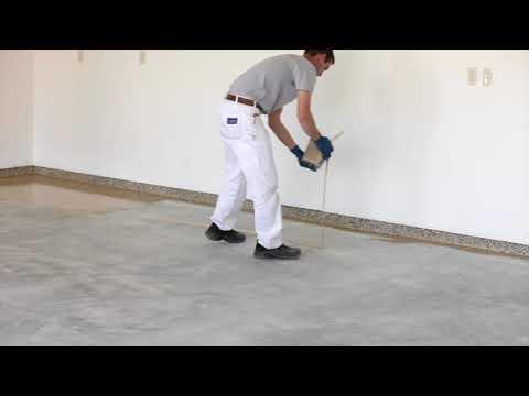 Karen's Company Sample of 1 Day Garage Floor Project