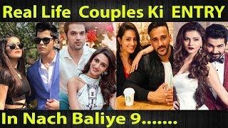 Gambar cover Top 10 Real Life Couples Who Participate In Nach Baliye Season 9