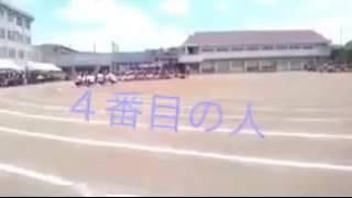 大阪の時の体育祭 4番目に走ってくるのが 永瀬廉です 文字入れはしまし...