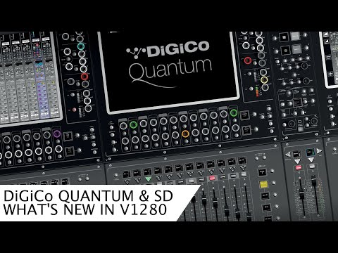 DiGiCo Software Version 1280. What's New?