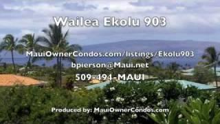 Wailea Ekolu 903 - A Maui Vacation Rental Condo