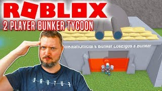 GENERAL COMKEAN AND PRIVATE MOOSE! -ROBLOX 2 Player Bunker Tycoon Danish with the Manous Moose
