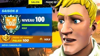 What happens once LIVE 100 in SAISON 8 on FORTNITE! (Fortnite Funny Moments)